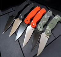 Wholesale outdoor camping tools - 8 models c81 Paramilitary back lock Folding Tactical Outdoor Survival Camp Pocket Knives tool OEM