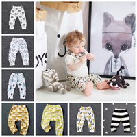 Wholesale hot girls tight clothes for sale - Group buy Ins Baby Clothing Hot style children s many leggings Girls and Boys baby super cute big PP pants LYM05