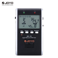 Wholesale Ion Generators - JOYO JM-90 Universal Rechargeable Li-ion Battery Digital Metronome Tone Generator Tuner with LCD for Guitar Violin Ukulele