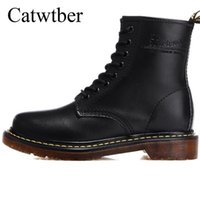 ingrosso stivaletti britannici-Catwtber Spring / Winter Warm Fur Business Shoes Dress Uomo Boots British Fashion Stivaletti Brogues Soft Leather Casual