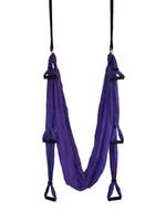 ingrosso yoga swing-Amaca Antigravity Yoga con impugnatura full set Aerial swing Spedizione per posta 15-30 giorni