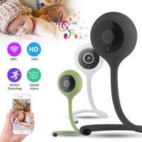 Wholesale ir temperature camera resale online - Wireless Wifi IP Camera Baby Monitor Nanny Way Audio Cloud IR Night Vision Security Camera Temperature Monitoring Lullaby
