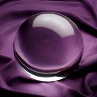 bolas de cristales de feng shui al por mayor-Los compradores de Esfera esférica de cristal redondo de 40-200 mm muy claros eligen el tamaño