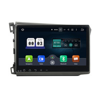 Wholesale inch Octa core GB RAM Andriod Car DVD player for Honda Civic with GPS Steering Wheel Control Bluetooth