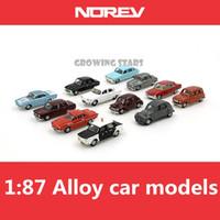 modèle 87 achat en gros de-Modèle spécial NOREV, modèles de voitures classiques en alliage 1: 87 en norev, jeux de pinces en métal, enfants aiment les véhicules jouets, livraison gratuite