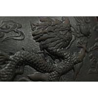 китайские кожаные сумки оптовых- design wallet Dragon pattern Cowhide leather men clutch bag Chinese style men card holder wallet mobile phone bag
