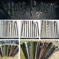 Wholesale wholesale role play toys online - New Harry Potter Magic Wand Cosplay Hermione Granger Role Play Resin Magical Wand Gift Box Harry Potter Magic Wands toy Party Supplies I407
