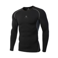 camisas térmicas para hombre al por mayor-2018 Mens Fitness 3D estampados manga corta camiseta hombres culturismo piel apretada camisa de compresión térmica Crossfit Workout Top