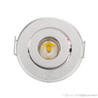 ingrosso luce di mini dimensioni ha condotto-negozio di articoli per la casa vendita calda mini Led spot light Downlights luci per armadietto 1W 3W Dimensioni foro 40-45mm 110-270LM AC85-277V down light
