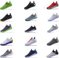 Wholesale Light Gray Red Sport Shoes - 2018 Kobe 12 Black Gold Men Basketball Shoes Cheap Purple Red White Gray Blue Kobe 12s Elite 8 Sport Sneakers