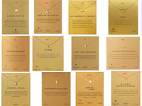 neue perlenhalskettenentwürfe großhandel-Neue dogeared choker halskette mit karte gold kreis elefant perle liebe flügel anhänger halsketten für mode frauen schmuck 120 designs