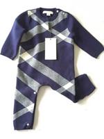 ingrosso bambino di pullover di lana-Inverno Brand Design Vendita calda baby boy maglione di lana a maglia pullover cardigan per le neonate bambini vestiti bambini pagliaccetti infantili