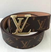 Wholesale leather belt 42 - high quality belts fashion brand belt luxury belts for men woman buckle belt waist leather belts