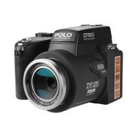 ingrosso treppiedi per lenti-Fotocamere digitali PROTAX D7300 Fotocamere DSLR professionali da 33 MP Fotocamere con zoom ottico 24X Tele ottiche 8X Obiettivo grandangolare LED Treppiede