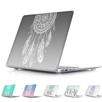 Wholesale Dreams Book - Amazing Unique Dream Catcher Feather Pattern Air 13 11 Crystal Clear Case for MacBook Pro Retina 13 15 Hard Cover Mac Book 12