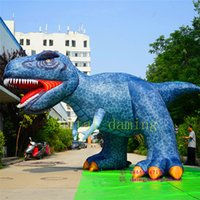 Wholesale inflatable dragons for sale – halloween Giant Inflatable Dinosaur inflatable t rex inflatable dragon for Jurassic park