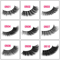 Wholesale factory making fake eyelashes for sale - Group buy 100Pairs Mink Eyelashes Styles Lashes Extension D Long Easy To Wear Fake Eyelashes factory supply