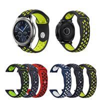 samsung-armband großhandel-Neuer Silikonarmbandarmband Sport Soft Watch Band 22 mm für Samsung Gear S3 Classic / Frontier