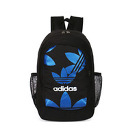 Wholesale school bag newest resale online - Newest Brand Designer Backpack for Women Mens Travel Backpack with Double Zippers High grade Material Bags with Print Letter School Bag