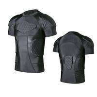 coffre à accessoires achat en gros de-Sports Extérieur Course de moto Body Armor Shirt Colonne vertébrale Coffre Équipement de protection Accessoires