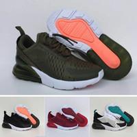 the latest 8a8e7 abd7d Nike air max 27c Infant Air Cushion 270 Enfants chaussures de course noir  blanc 270 enfant en bas âge athlétique garçon fille espadrilles enfants  Maxes ...