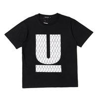 Wholesale u s t shirts - 2018ss UNDERCOVER Big U Print Women Men T shirts tees Hiphop Streetwear Men Cotton T shirt Outwear