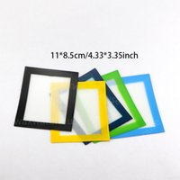Wholesale bad sheets resale online - Nonstick silicone wax mats pads no bad smell custom cookie baking pastry mat cm cm roling sheets for dry herb