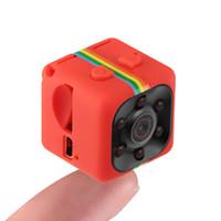 микро-камера hd car оптовых-2018 SQ11 Mini Camera HD 1080P Night Vision Camcorder Car DVR Infrared Video Recorder Sport Digital Camera TF Card Micro