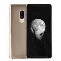 pulgadas digital mp3 al por mayor-Huella digital Goophone S9 + Plus Clone 1 GB 16 GB ID de rostro 3G WCDMA Quad Core MTK6580 Android 7.0 6.2 pulgadas Pantalla completa 13MP Cámara GPS Teléfono inteligente