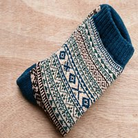 Autumn Winter Man Wool Nation Male Happy Mens Novelty Long Socks Men Funny Cotton2PCS=1PAIRS