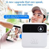 инфракрасная мобильная камера оптовых-Смарт-беспроводной кольцо дверной звонок WiFi визуальная камера телефон двери дома монитор безопасности ночного видения свет sens инфракрасный мобильное приложение 720P