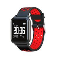 сердца стоят оптовых-Goral SN60 Smart Watch мужчины IP68 Водонепроницаемый 60 дней Stand-by артериального давления монитор сердечного ритма Спорт Bluetooth Smartwatch