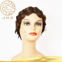 Wholesale China Supplier Brazilian Short Woman Virgin Cheap Front Lace Human Hair Wig