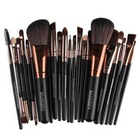 Wholesale 22 makeup brush set - MAANGE Makeup Brushes Sets 22 pcs Professional Eyeshadow Powder Foundation Contour Lip brush Cosmetics Multipurpose Make up Brushes kit