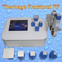 Wholesale microneedle therapy machine - microneedle rf mesotherapy gun facial therapy RF skin rejuvenation microneedle beauty machine salon use Free shipping