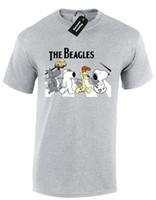 camisetas de los beatles al por mayor-THE BEAGLES MENS T SHIRT SNOOPY BRIAN ABBEY RD BEATLES FUNNY GARFIELD THE GUY