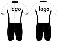 Wholesale bicycle jerseys custom - 2018 Custom Cycling Jersey And (NONE) BIB Shorts Summer Set DIY Bicycle Wear Polyester + LyCra Any Color Any Size Any Design Free shipping