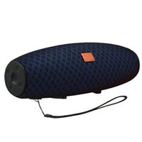 bluetooth stero toptan satış-E12 Kablosuz Bluetooth Hoparlörler Açık taşınabilir 10 W Bluetooth Sütun AUX USB Müzik Çalar Boom Box Stero Ses Kutusu Taşınabilir Hoparlör