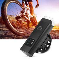 schnellverschlüsse großhandel-USB aufladbare wasserdichte Fahrrad Radfahren Licht Fahrrad intelligente Induktion Front Taschenlampe Quick Release-Halterung bringt schnelle und einfache Installation