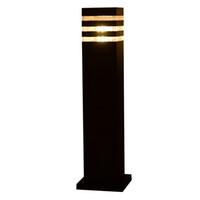 ingrosso pezzo di palo-2 pezzi giardino parco LED palo lampada luce esterna portico luce lampada passaggio passerella asta bollard LED prato alberino