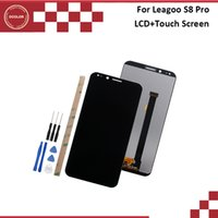сенсорный экран дисплея lcd телефона оптовых-ocolor For Leagoo S8 Pro LCD Display And Touch Screen 5.99 Inch 100% Tested Digitizer For Leagoo S8 Pro Phone Accessories +Tools