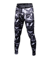 Wholesale Dark Purple Leggings - 2017 Mens Compression Pants Sports Running Tights Basketball Gym Pants Bodybuilding Joggers Jogging Skinny Leggings Trousers 21
