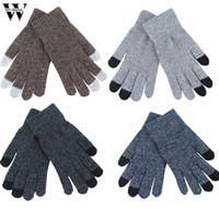 многоэкранный планшет оптовых-WOMAIL Women Men Multi-function Knitted Screen Winter Gloves Soft Warm Mitten for iPhone Smartphones Laptop Tablet d18w30