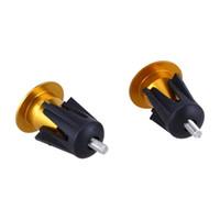 XON CNC Alloy Fixed Gear Handlebar Barend Cap Plug,For MTB Gold