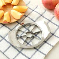 Wholesale kitchen apple slicers for sale - Group buy Fashion Stainless Steel Apple Slicer Vegetable Fruit Apple Pear Cutter Slicer Processing Kitchen Slicing Knives Utensil Tool