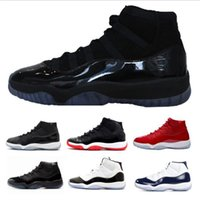 Wholesale Blue Star Spring - Wholesale 11 Prom Night Gym Red Midnight Navy Black Stingray Bred Concord Space Jam Shoes 11s Mens Womens Kids Basketball Sneaker