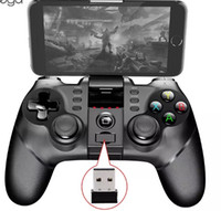 Wholesale bluetooth controller best resale online - Ipega Wireless Gamepad Best Bluetooth Game Controller PG Joystick with G Dongle for Android Cell Phone iPhone iPad PC Tablet TV PS3