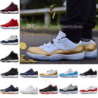 Wholesale Womens Silk Tops - 2018 Cheap 11 Low PRM Heiress Black Stingray Womens Men Basketball Shoes Gym Red Midnight Navy Top Quality Athletic Sport Sneakers US 5.5-13