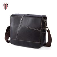 TIANHOO leather bags mens shoulder bags real cowwide layer genuine leather  bag messenger   satchels fake designer casual 72f1c14efafdb