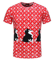 Wholesale fitted t shirt pattern - Men's T-shirts Panelled Letter Pattern Printed Mens T Shirt For Short Sleeve Casual Slim Fit Tops Fashion Tshirts 16929